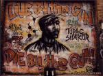 Tupac Shakur R.I.P. Graffiti Mural wallpapers