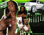 Lil Wayne Calendar for May 2007 wallpapers