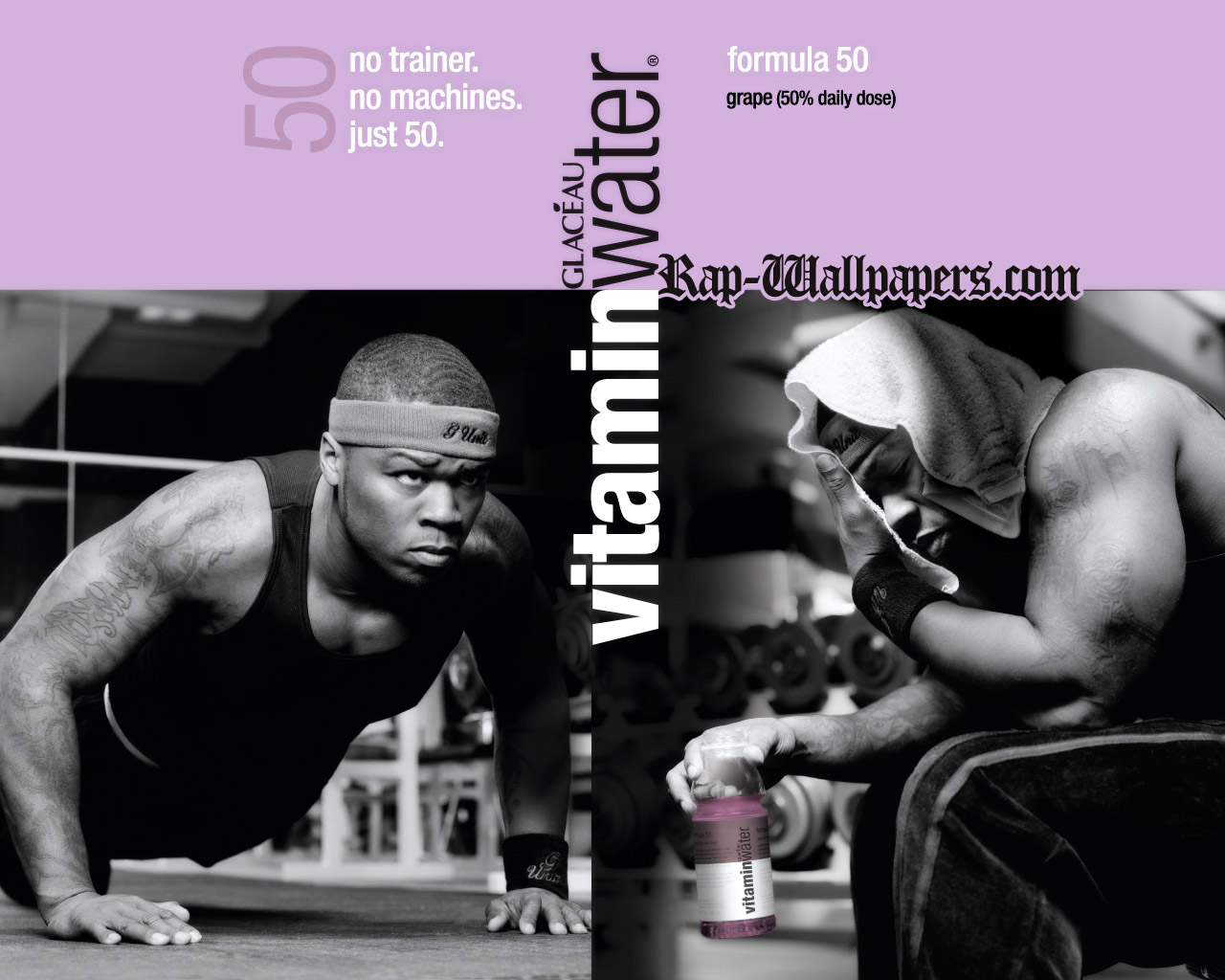 50 Cent Vitamin Water Wallpaper