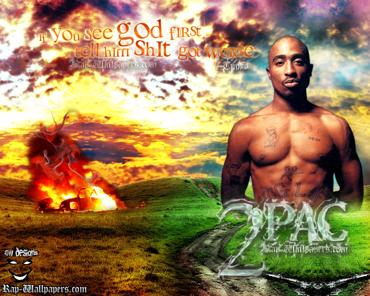 Tupac If you see god first