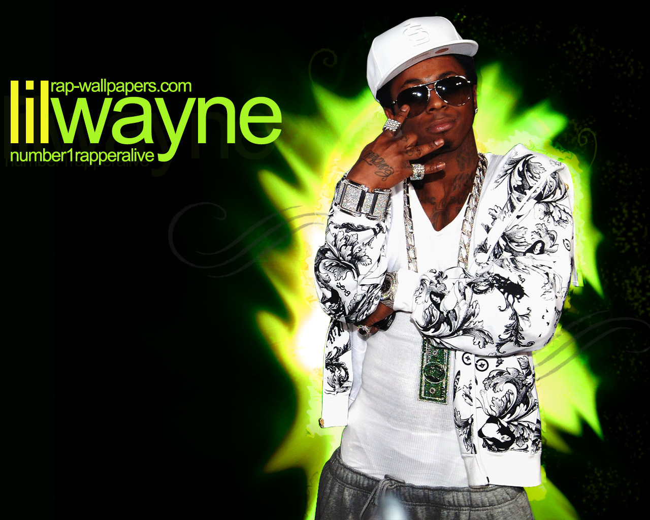 wallpaper and choose 'Save Picture As' Lil Wayne Number 1 Rapper Alive