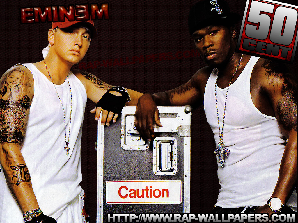 wallpaper and choose 'Save Picture As' Eminem and 50 Cent Wallpapers
