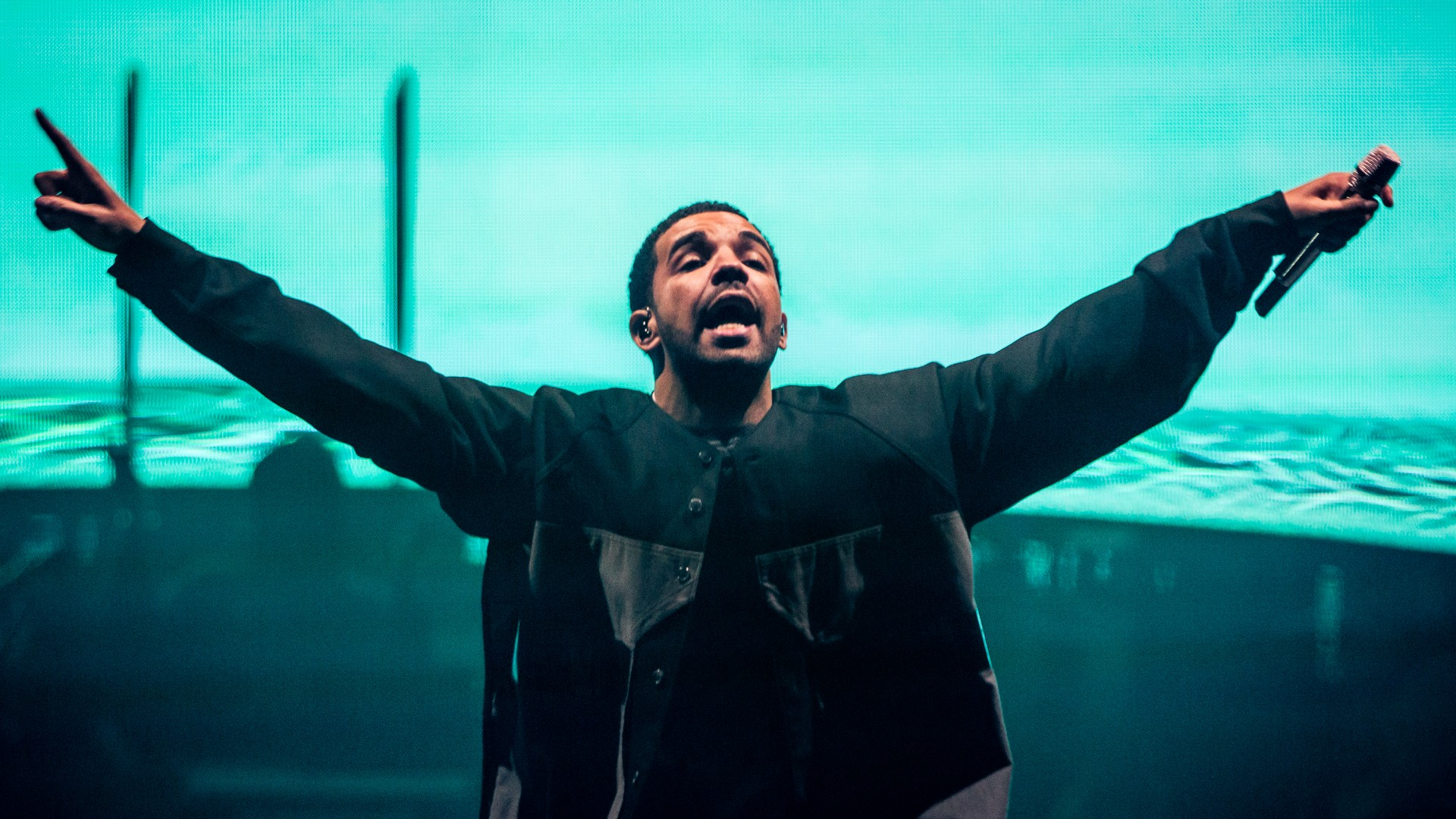 rap wallpapers drake pointing