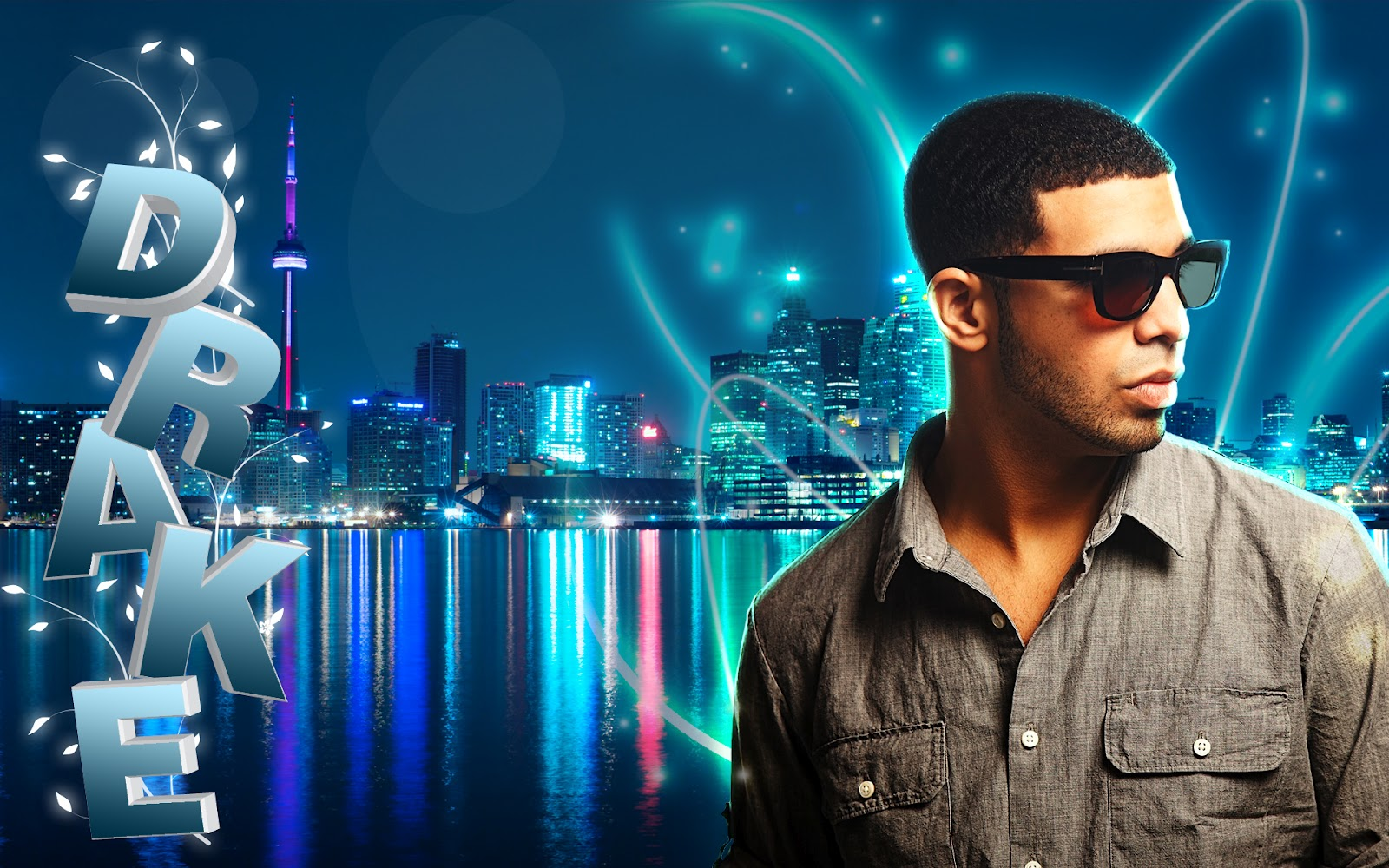 rap wallpapers drake name 3d