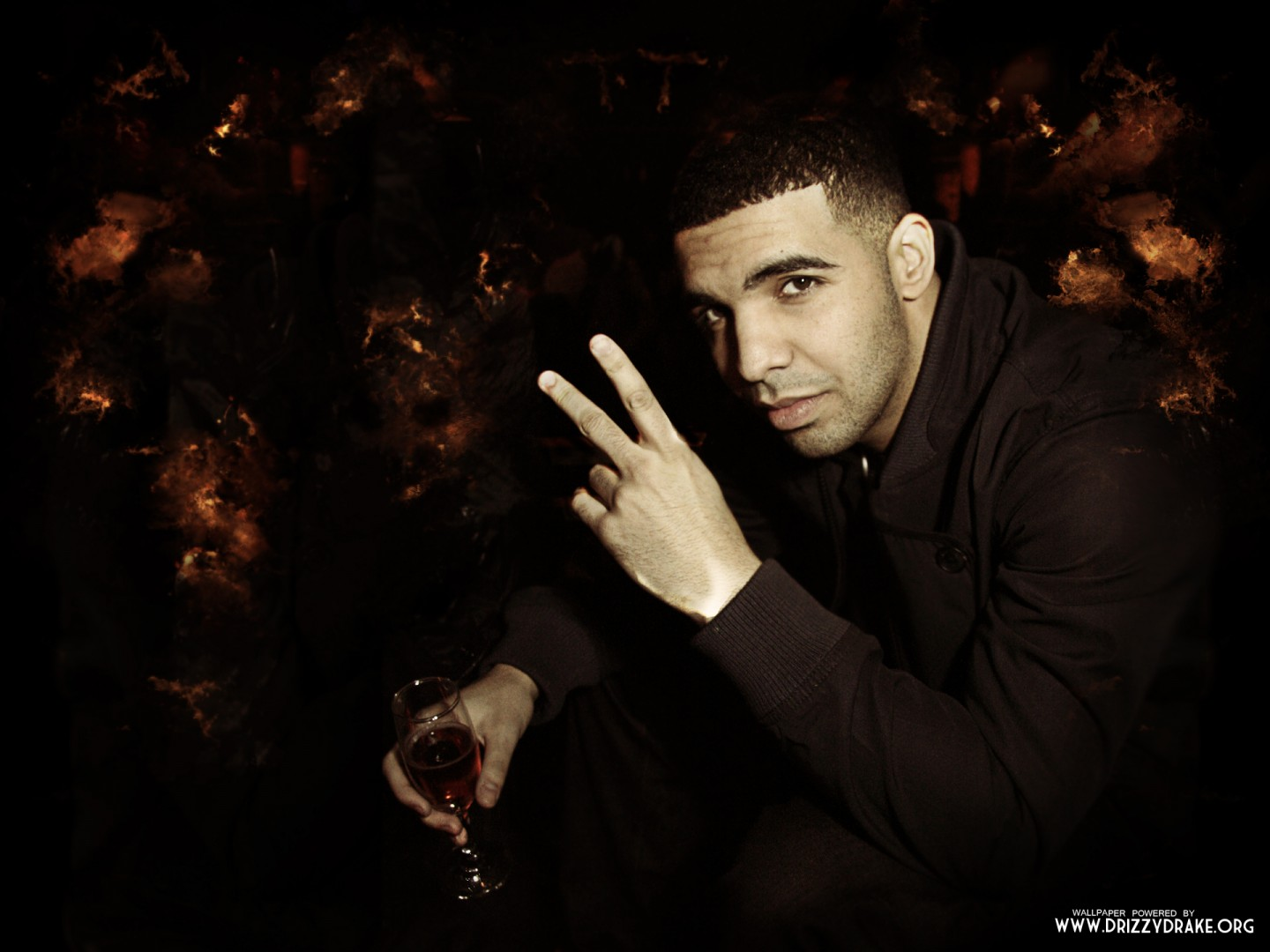 rap wallpapers drake peace sign