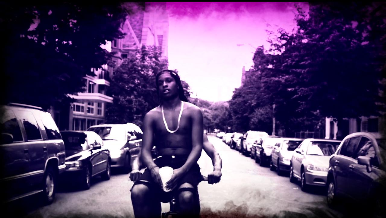 Rap Wallpapers – ASAP Rocky Purple Swag