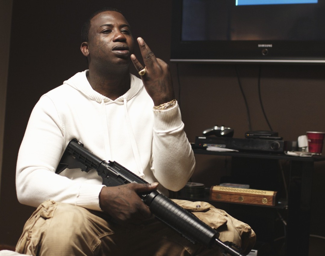 rap wallpapers gucci mane gun