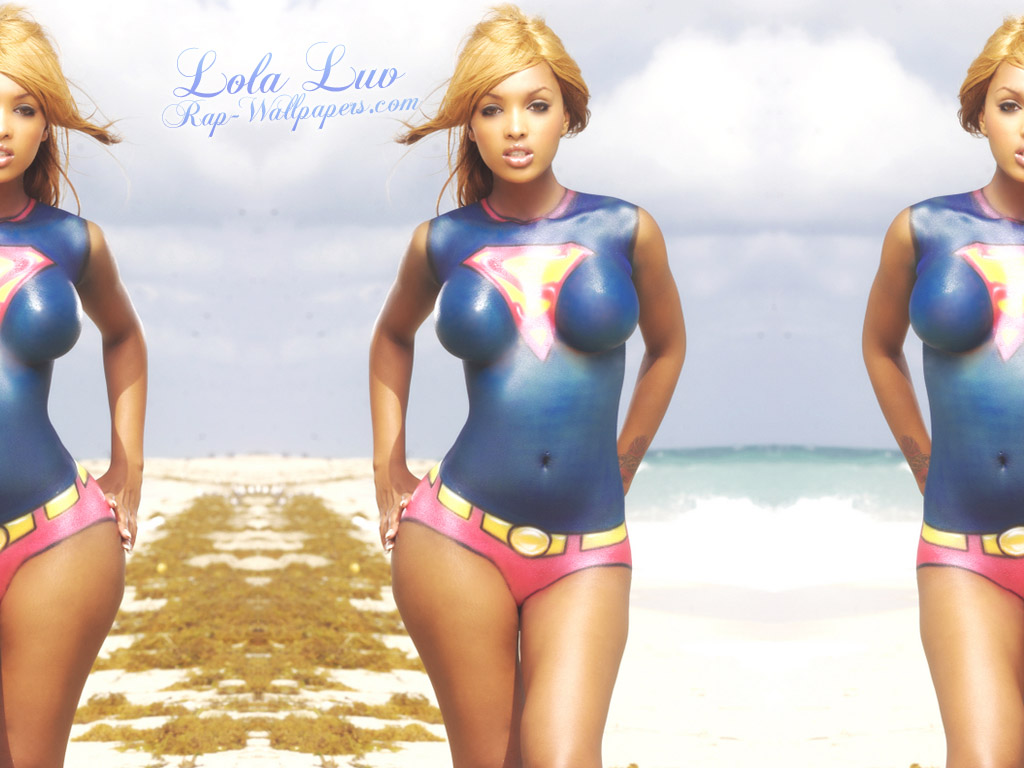 lola luv sexy angel 01 • Rap Wallpapers