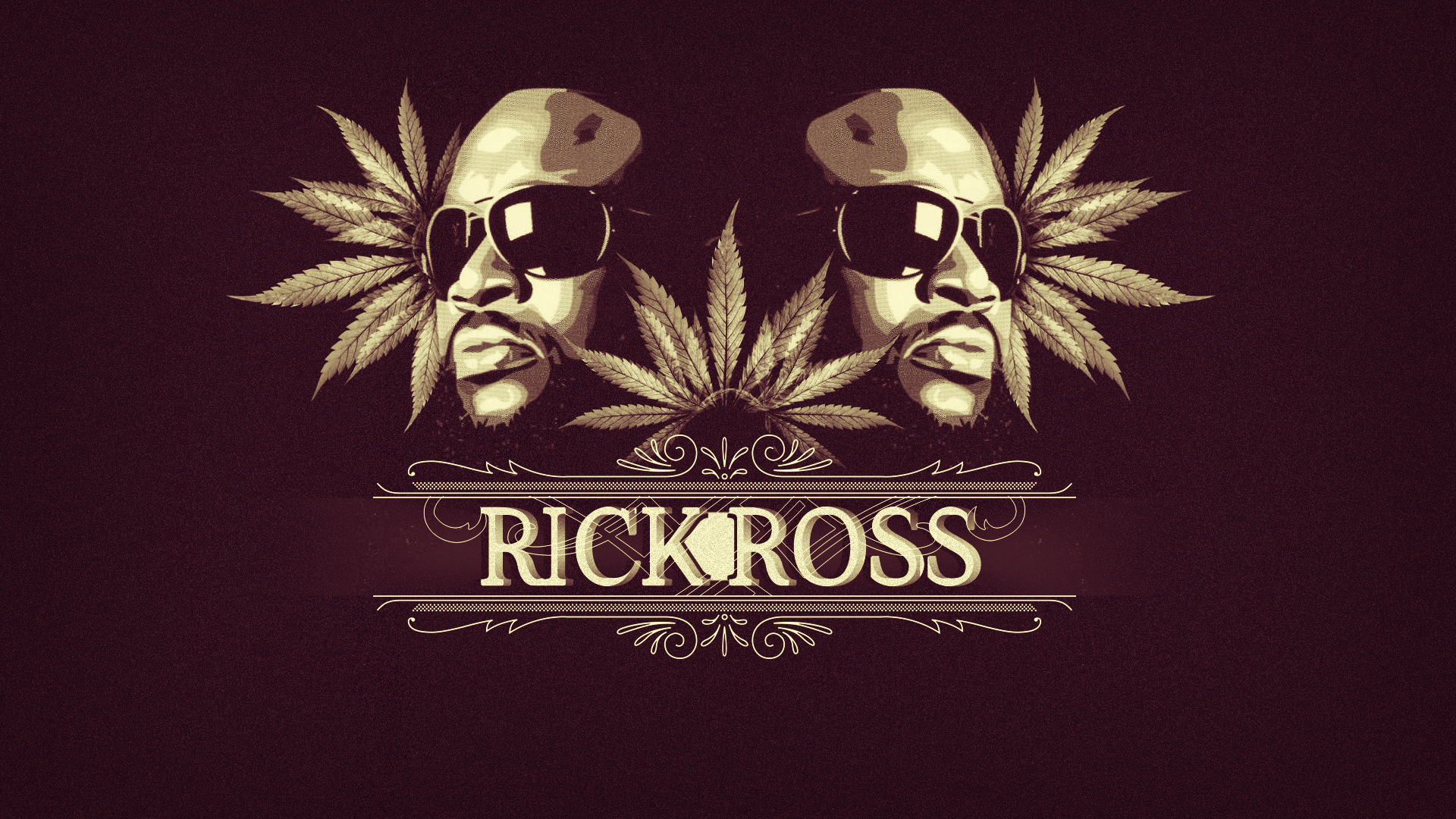 Iphone wallpaper just do it - Rick Ross Weed Leafs Rap Wallpapers