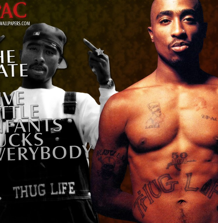 2pac Thug Life Wallpaper 2 Pac Thug Life Wallpaper