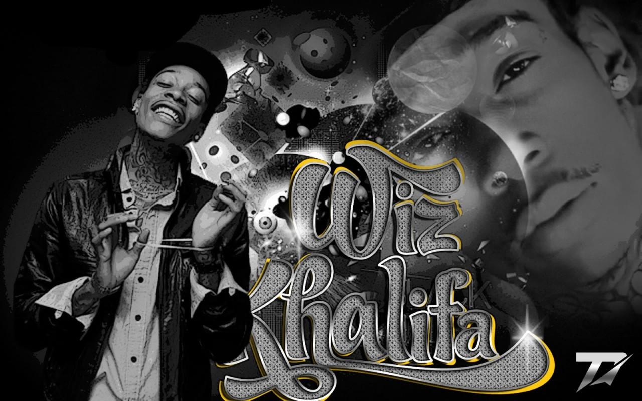 rap wallpapers wiz khalifa name