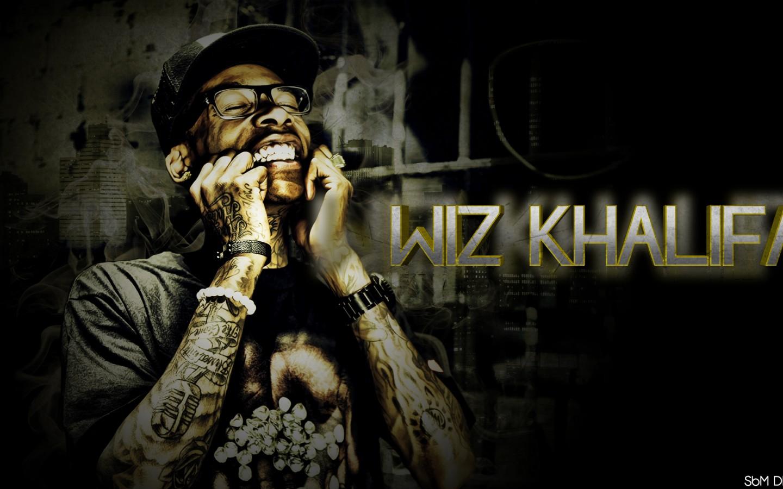 rap wallpapers wiz khalifa name 3